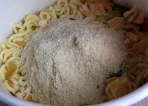 Campbells noodle湯入れ前