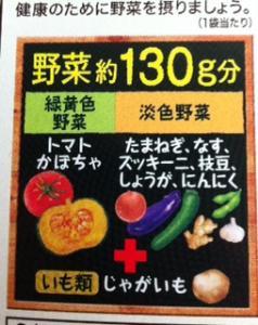 夏野菜分量