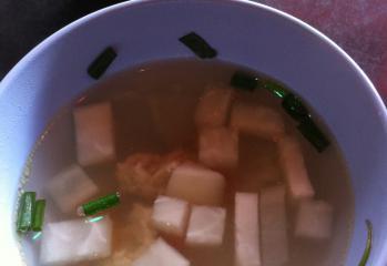 バーンキラオスープ
