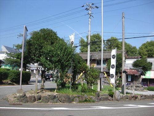 関ケ原合戦 田中吉政の陣跡