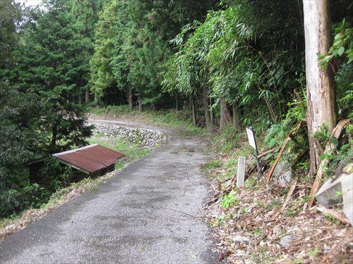 関ケ原合戦 玉地区に残る旧北国街道(北国脇往還)