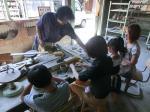 2012年美濃市親子陶芸教室