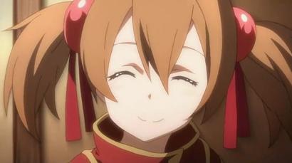 SAO シリカ笑顔
