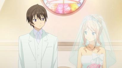 恋チョコ 結婚式(嘘)