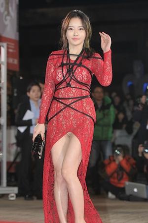 韓国女優 ハンセア(한세아) 緊縛ファッション 1