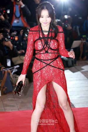 韓国女優 ハンセア(한세아) 緊縛ファッション 3