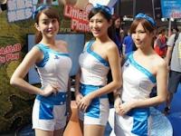 台北国際ITショー2014のコンパニオン画像