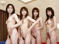 複数人で写ってる日本美女のヌード画像特集