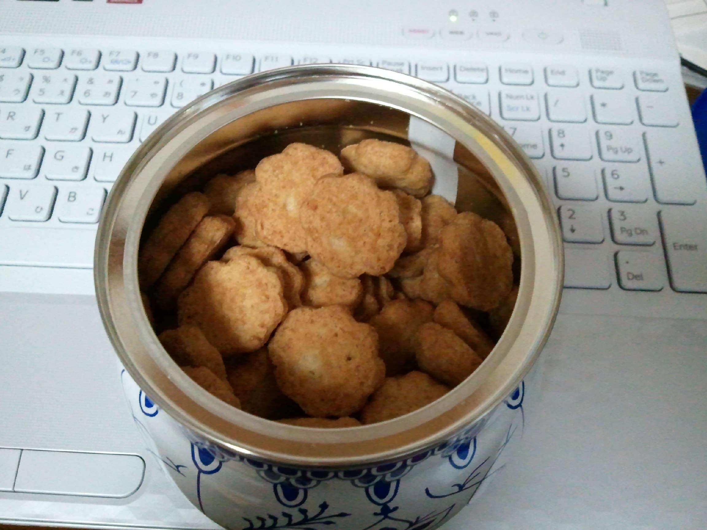 Danish Mini Cookies 中身