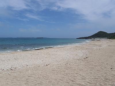 カンナ崎近くの海岸