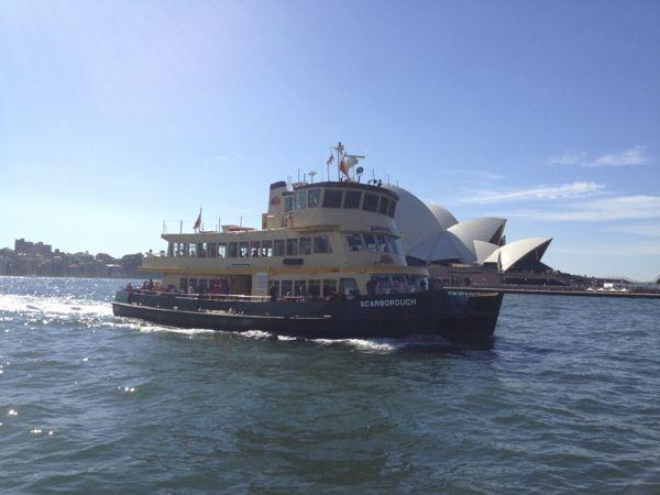Sydney boat