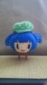 今回の帽子は『にとり』 いい具合に縫えました