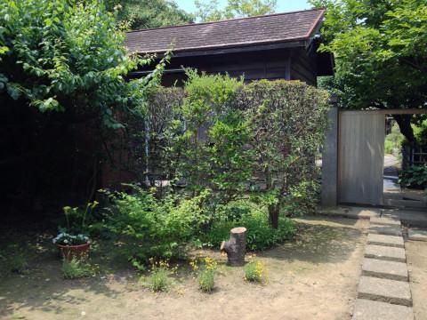 お庭カフェ2