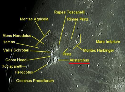 Moon Aristarchus