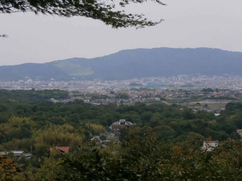 奈良盆地一望