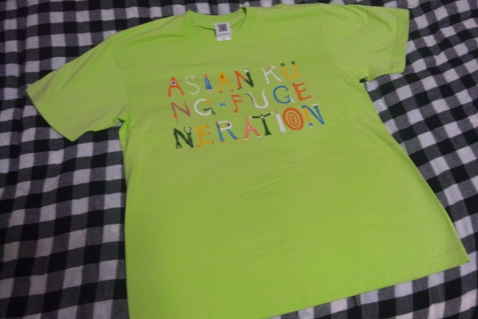 アジカンTシャツ