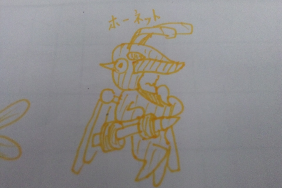 甲虫装機ホーネット