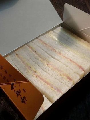 大船軒、鎌倉ハムサンドウイッチ2