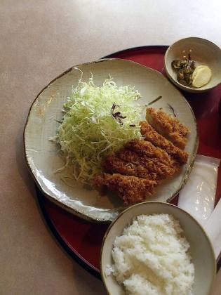 かつふみ、チキンかつ定食3