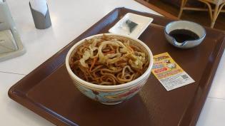 すき家、期間限定発売やきそば牛丼(ミニ)5