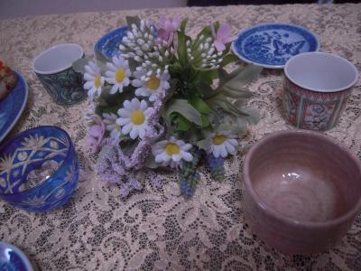 お茶会 食器1