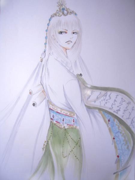 白鷺絵1a