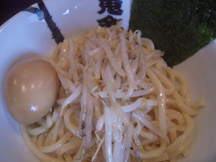 鬼金棒つけ麺3