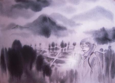 蟲師 しゅうりん雨7