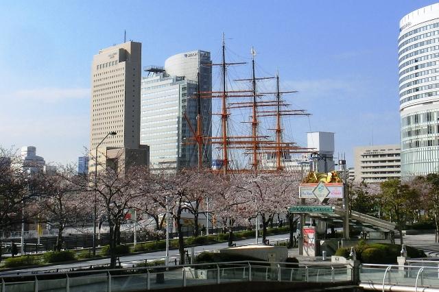 ドックヤードと日本丸メモリヤルパーク