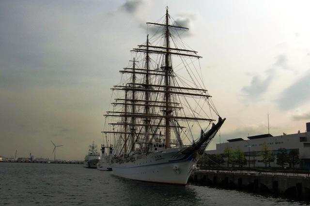 海王丸(横浜港新港埠頭5号岸壁)