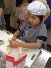 クッキー型抜き駒津