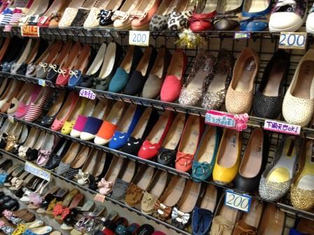台北駅地下靴