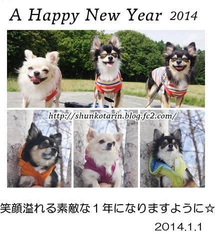 2014 新年明けましておめでとうございます♪