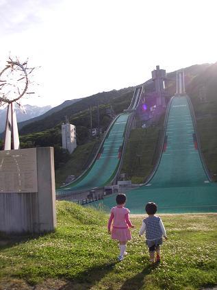 白馬ジャンプ台(2012)
