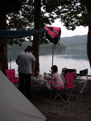 初キャンプ 1