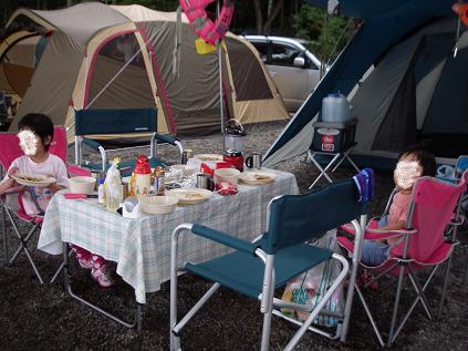初キャンプ 3