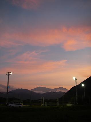 夕焼け2(2012年7月)