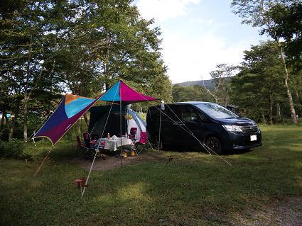 3回目のキャンプ その1