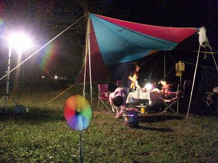 3回目のキャンプ その4