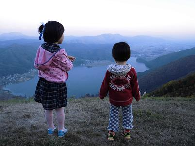 裏山より(2012年10月)