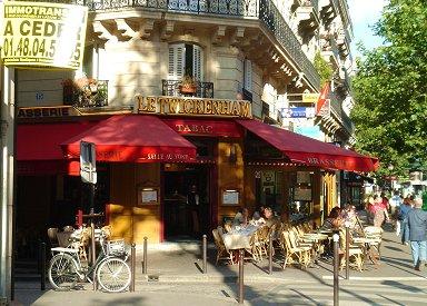Saint-Germain(サンジェルマン)通のカフェREVdownsize