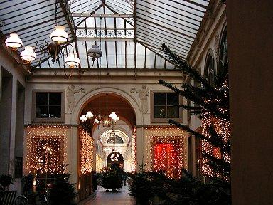 パッサージGalerie Vivienneのクリスマスdownsize