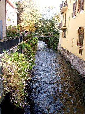 小さな運河の朝downsize P1010357