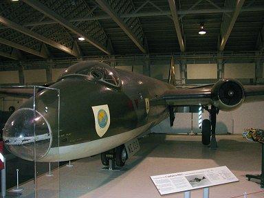 RAF博物館のCanberra downsize