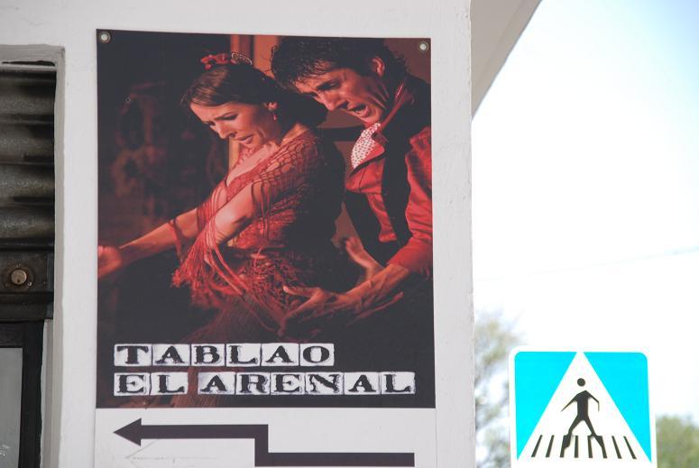 フラメンコのポスター