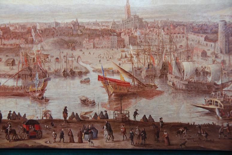 ベラスケス・セビージャの港
