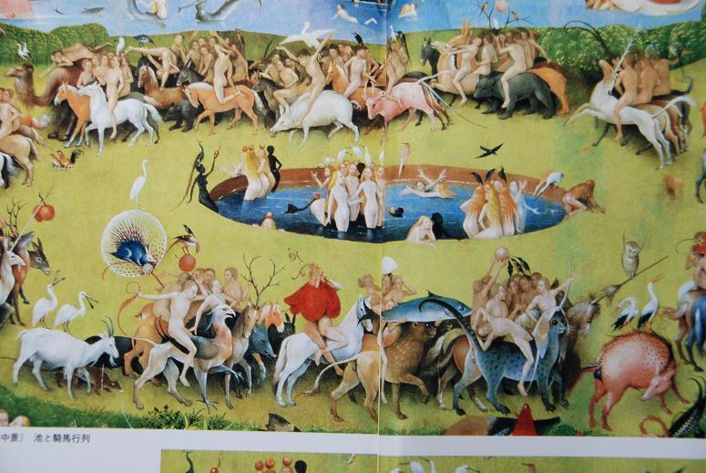 DSC_8338中・中壇円形に・乗馬、鹿などの行列