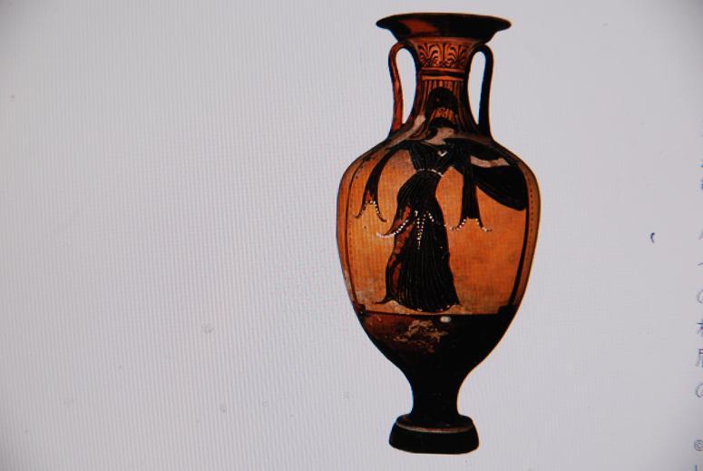 アンフォラ.壷女神アテナ
