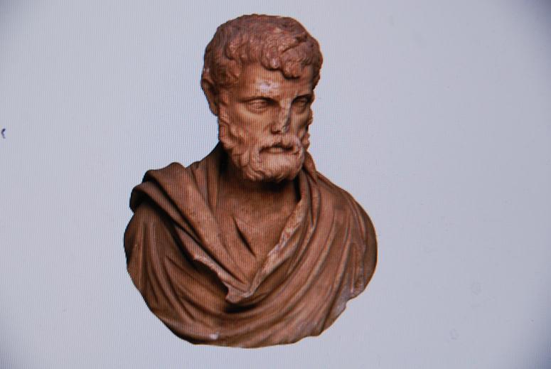 ヘロドスの胸像
