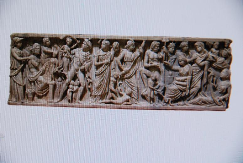 ローマの石棺.プロメテウス伝説